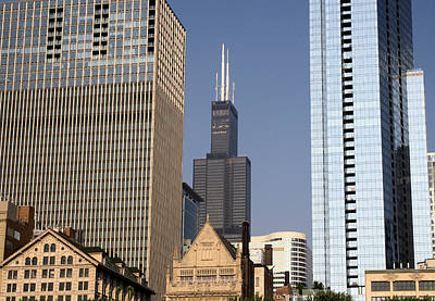 Photograph - Sears Tower by Ely Arsha