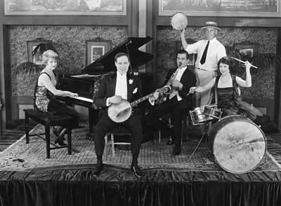 Photograph - Silent Still: Musicians by Granger