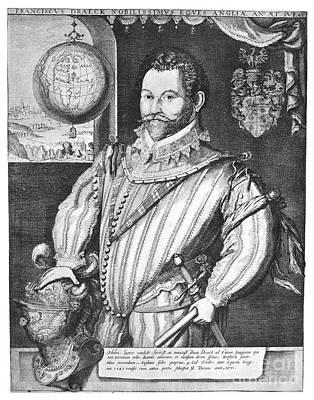 Sir Francis Drake (1540-1596) Art Print by Granger