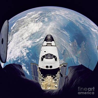 Space Shuttle Atlantis Art Print by Nasa