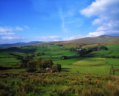 Sperrin Mountains, Co Tyrone, Ireland Art Print by The Irish Image Collection