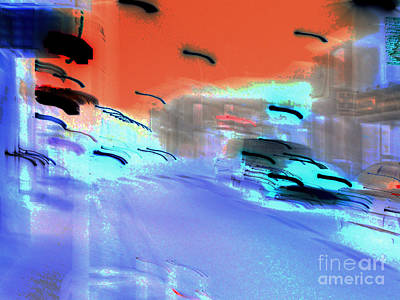Street-2012 Art Print by Peter Szabo