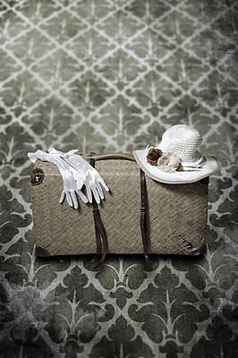 Vintage Hats Photograph - Suitcase by Joana Kruse