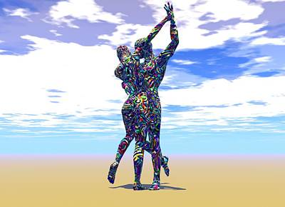 Surreal Dance Art Print