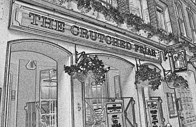 The Crutched Friar Public House Art Print