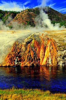 Yellowstone Digital Art - The Yellowstone Park by Aron Chervin