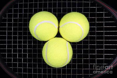 Time For Tennis Art Print by John Van Decker