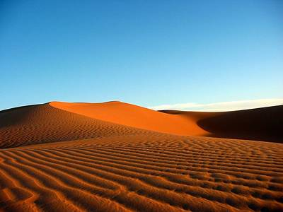 Ubari Sand Sea, Libya Art Print by Joe & Clair Carnegie / Libyan Soup