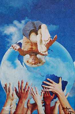 Untitled Paper Collage Original