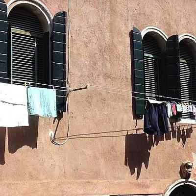 House Wall Art - Photograph - Venice Italy  by Irina Moskalev