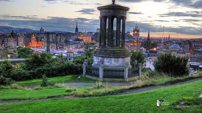 View Of Scotland Art Print by Jose Luis Cezon Garcia