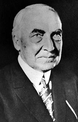 Warren G. Harding, 29th President Print by Everett