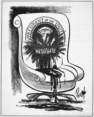 Watergate Scandal, 1973 Art Print