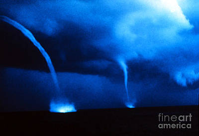 Photograph - Waterspouts by Science Source