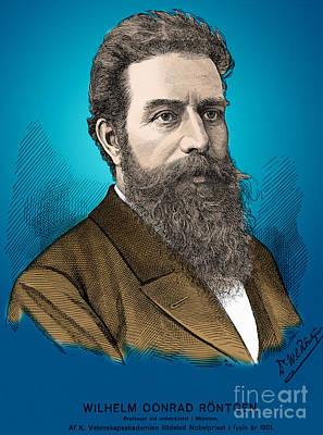Wilhelm Roentgen, German Physicist Art Print by Science Source