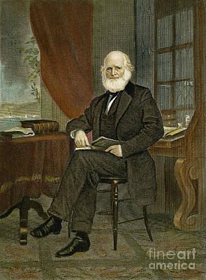 William Cullen Bryant Art Print