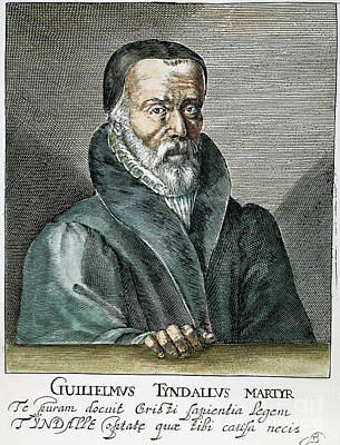 New Martyr Photograph - William Tyndale (1492?-1536) by Granger