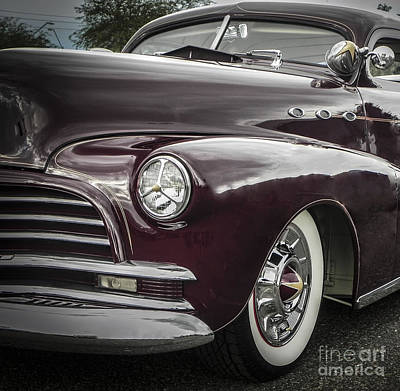 Tricked-out Cars Photograph - 3 Window Barris Chevy by Chuck Re