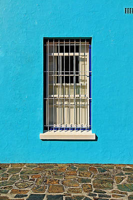 Window Guards Photograph - Windows Of Bo-kaap by Benjamin Matthijs
