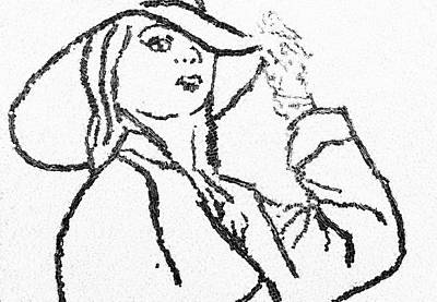 Woman Art Print by Natalya A