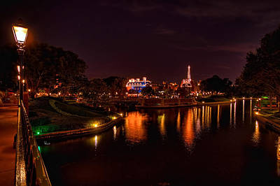 Photograph - World Showcase France Hdr by Jason Blalock