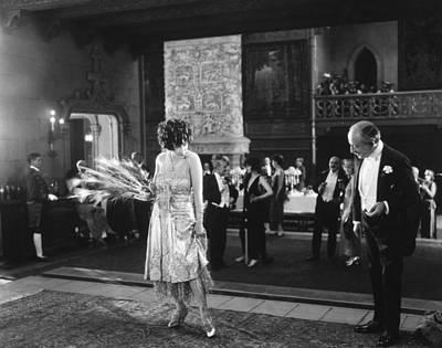 Ball Gown Photograph - Silent Still: Man & Woman by Granger