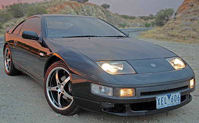 Photograph - 300 Zx by James Mcinnes