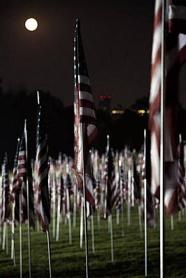 Photograph - 3000 Flags 911 by David Coblitz