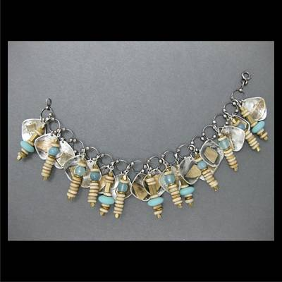 Jewelry - 309 Fused Charms by Brenda Berdnik
