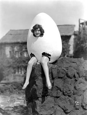 Humpty Dumpty Photograph - Silent Film Still by Granger
