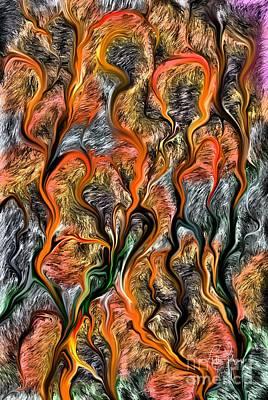 Art Print featuring the digital art 32122 by Leo Symon