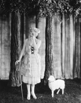 Bo Peep Photograph - Silent Film Still by Granger