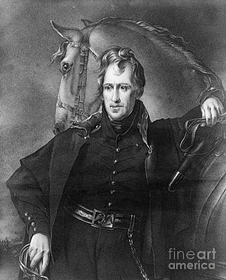 Sully Photograph - Andrew Jackson (1767-1845) by Granger