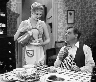 Film Still: Eating & Drinking Print by Granger