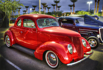 Photograph - 37 Ford Coupe by Saija  Lehtonen