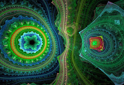 Generative Digital Art - 371 by Lar Matre