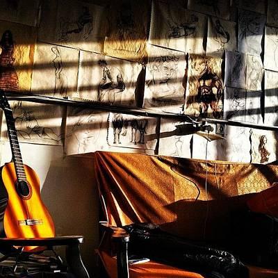 Guitar Wall Art - Photograph - Instagram Photo by Keyvan Shokrollahi
