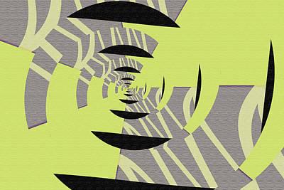 Decoupage Art Print by Mihaela Stancu