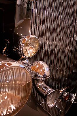 Vintage Cars Photograph - 1933 Pierce-arrow 12 Model 12412 Labaron Convertible Coupe by David Patterson