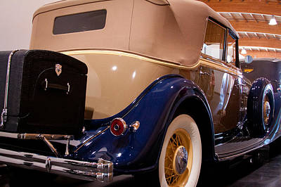 Automotive Photograph - 1934 Lincoln Kb V-12 Dietrich by David Patterson