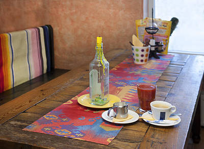 Tableware Photograph - A Tex Mex Restaurant In The Town by Jaak Nilson