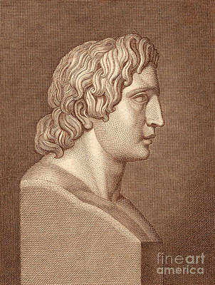Alexander The Great, Greek King Art Print by Photo Researchers