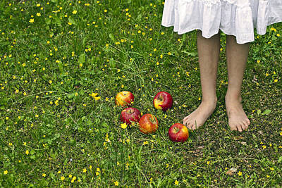 Apples Print by Joana Kruse