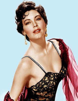 Incol Photograph - Ava Gardner, Ca. 1950s by Everett
