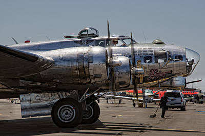 Photograph - B-17 Bomber by Gary Rose