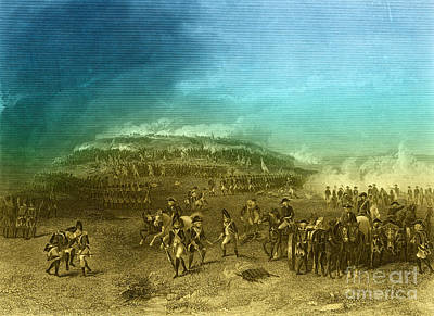 Alonzo Photograph - Battle Of Bunker Hill, 1775 by Photo Researchers