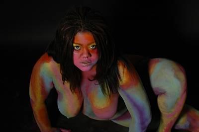 Body Painting - Bobbi by RoByn Thompson