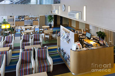 Tallinn Airport Photograph - Business Lounge At An Airport by Jaak Nilson