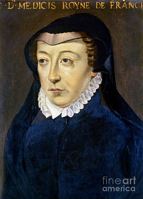 Photograph - Catherine De Medicis by Granger
