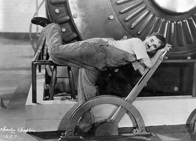 Chaplin: Modern Times, 1936 Art Print by Granger